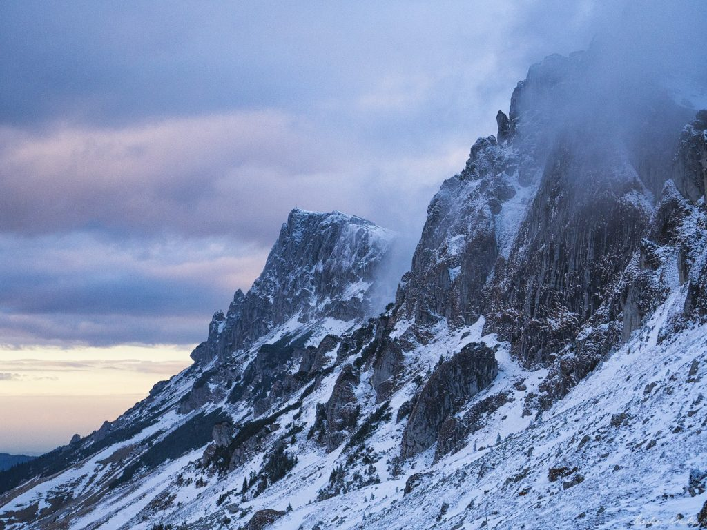 39 1 - Iarna în Bucegi, la Strunga