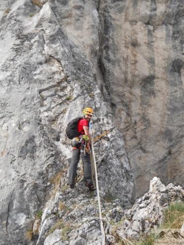 51 VA 99999x500 - Verticale în Postăvaru: Muchia Panseluței și Muchia Căprioarei