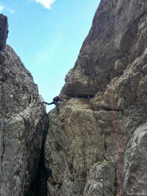 22 300x400 - Verticale în Piatra Craiului: Frontalul Dianei și Canionul Ciorânga