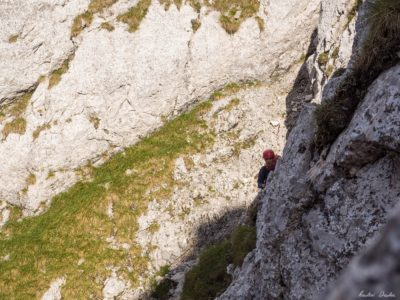 26 400x300 - Verticale în Piatra Craiului: Frontalul Dianei și Canionul Ciorânga