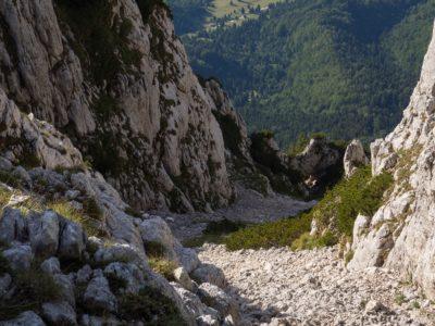 28 400x300 - Verticale în Piatra Craiului: Frontalul Dianei și Canionul Ciorânga