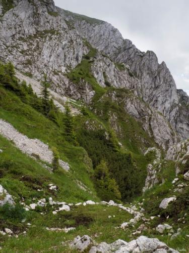 41 99999x500 - Brâul de Mijloc nordic, Piatra Craiului