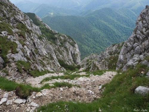 53 500x99999 - Brâul de Mijloc nordic, Piatra Craiului