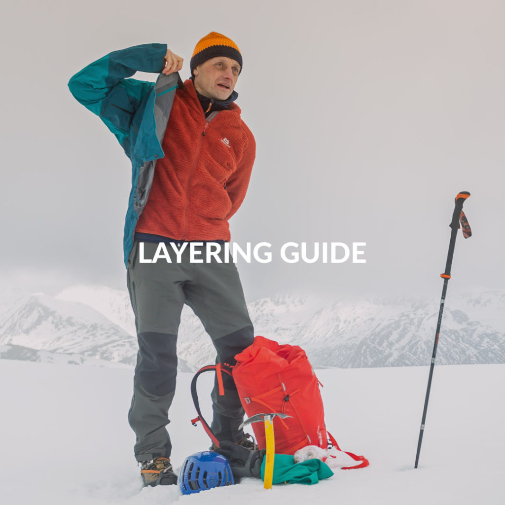 Cum sa te imbraci pe munte