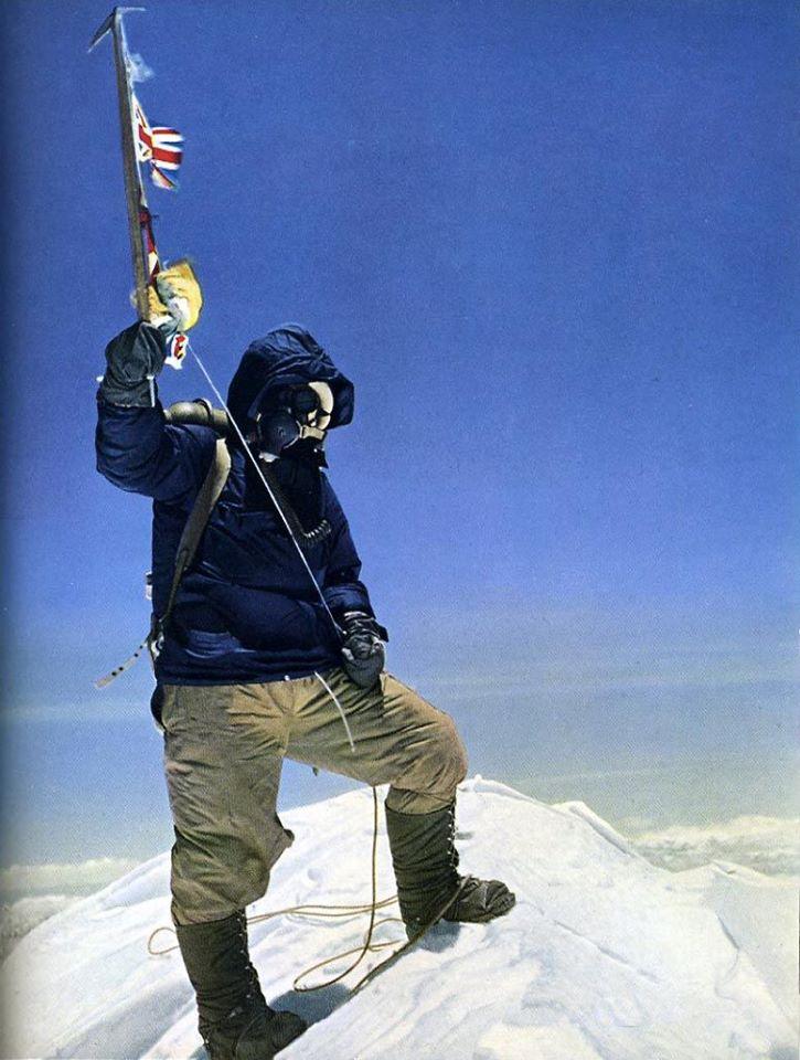 Hillary Tenzing Everest 1953