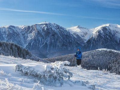 Bucurie în alb. Munții Baiului